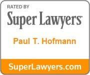 Logo Recognizing Hofmann & Schweitzer's affiliation with Superlawyers